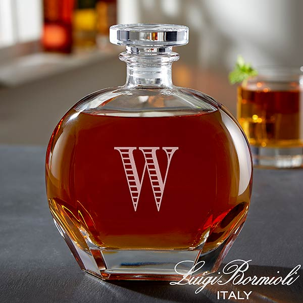 Monogram Whiskey Decanter