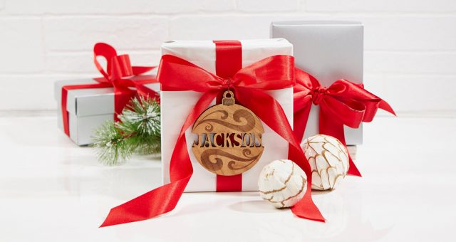 Ornament Gift Tag Idea