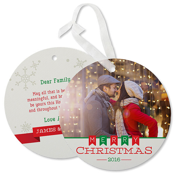 Photo Ornament Cards
