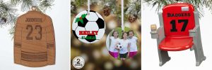 Sports Christmas Ornaments