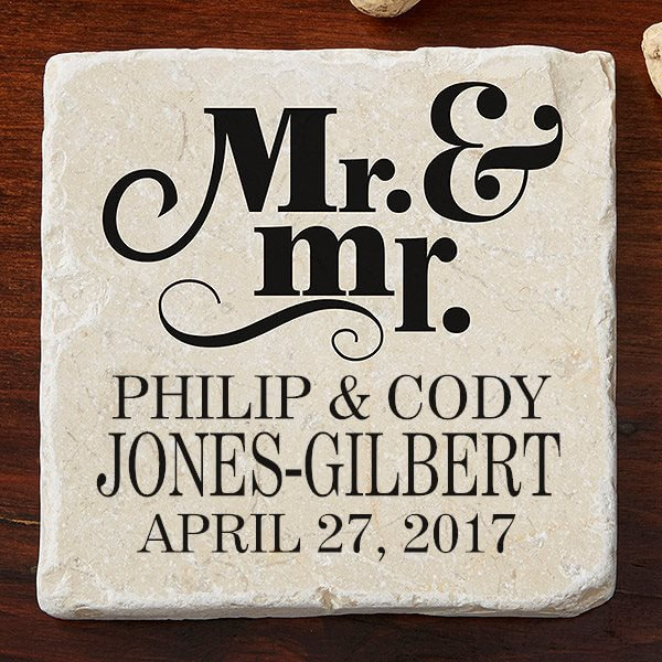 Wedding Gift Ideas For Gay Couples : Personalized Wedding Gift Ideas For Same-Sex Couples