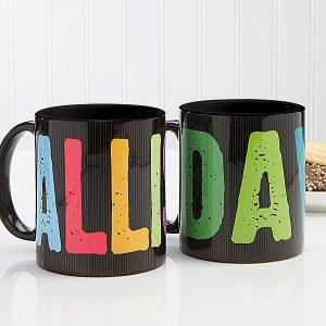 All Mine! Personalized Coffee Mug