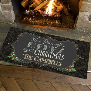 Holiday Doormat