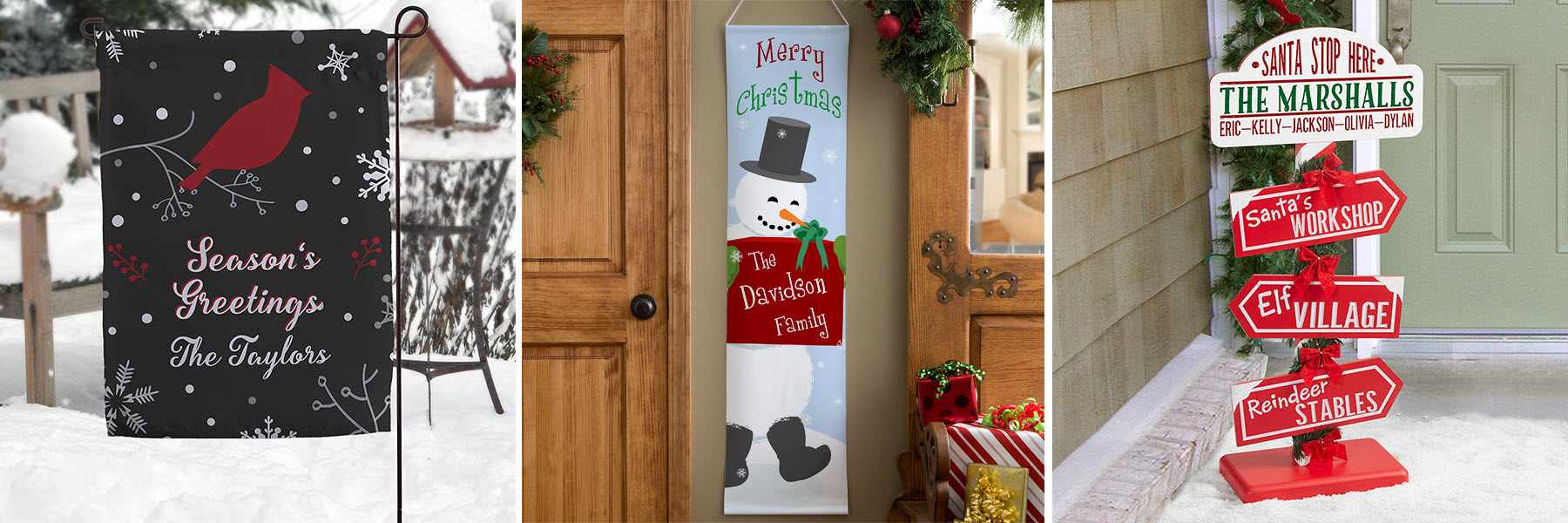 Holiday Entryway Decor