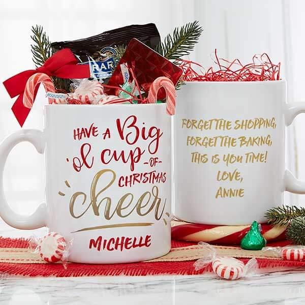 Oversized Christmas Mug