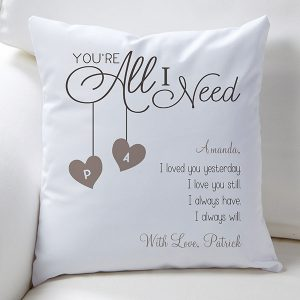 Romantic Throw Pillows