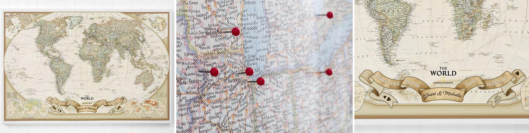 Romantic Travels Custom Map