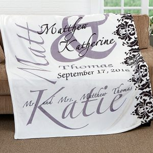 Wedding Keepsake Blanket