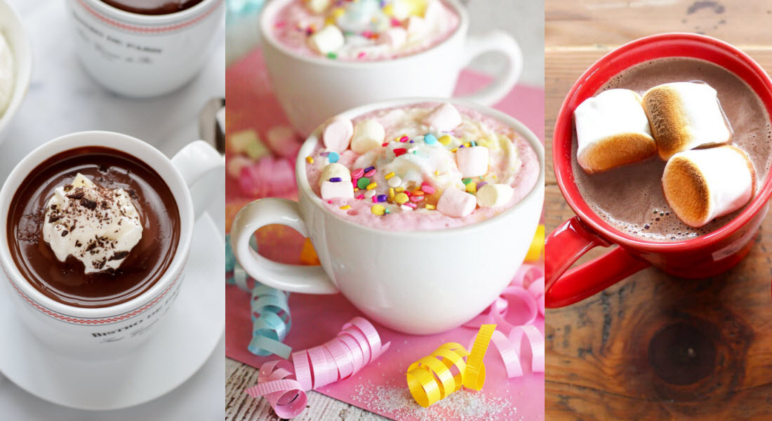 Homemade Hot Chocolate Recipes