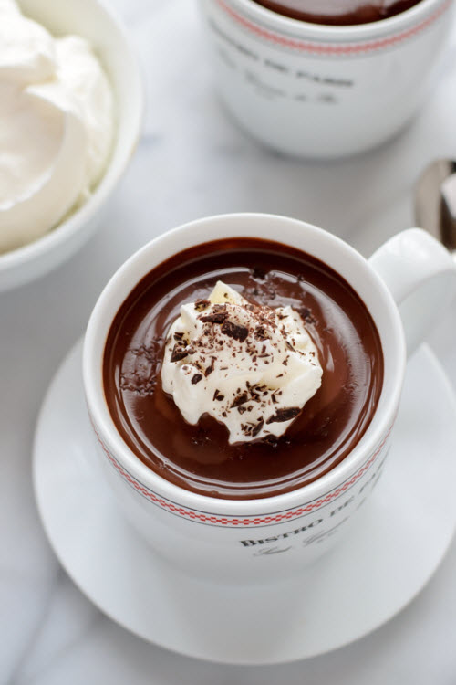 Dark Hot Chocolate Recipe