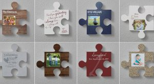 Puzzle Piece Wall Decor Options