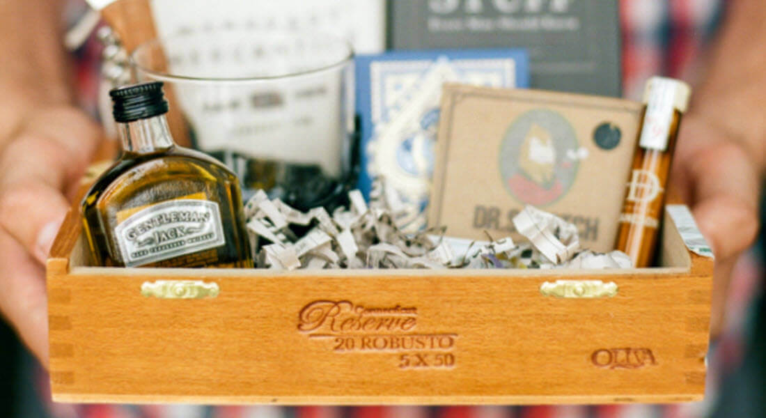 """Will you be my groomsman"" box ideas"