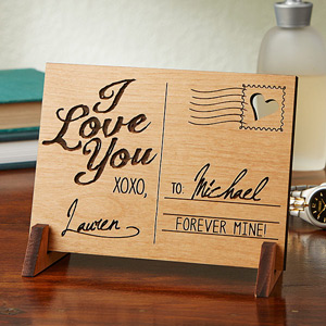 Romantic Wooden Keepsake