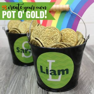 DIY Oreo Pot of Gold