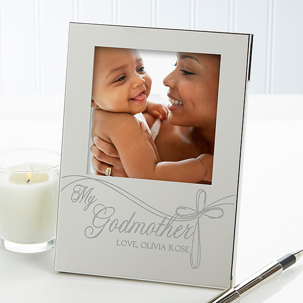 Godparent's Personalized Engraved Picture Frame