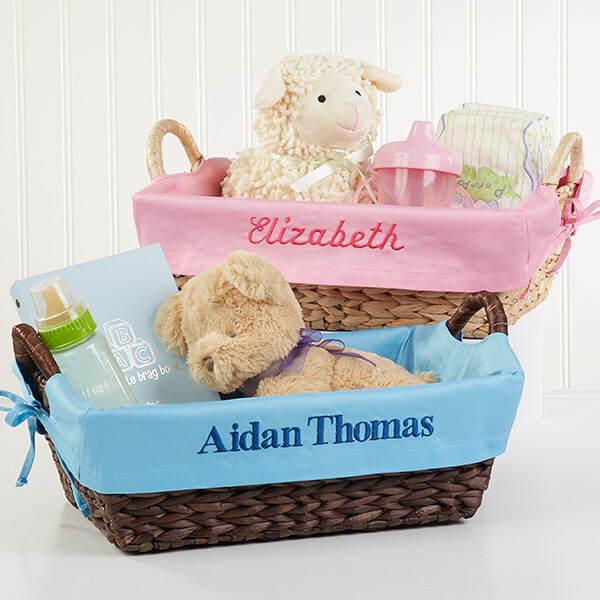 Personalized Baby Baskets