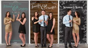 Personalized Photo Backdrops