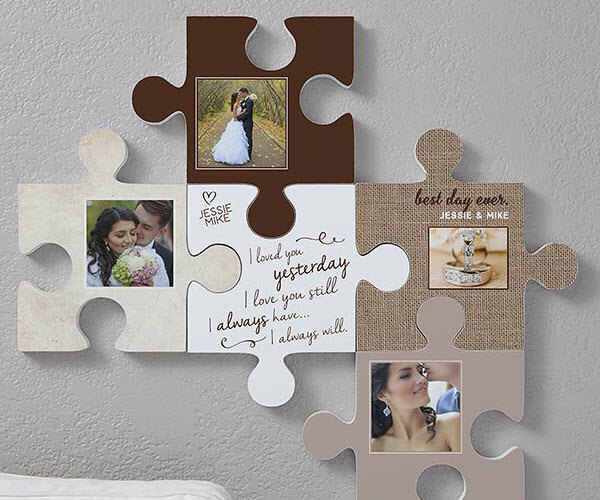 Puzzle Piece Wall Decor tell your family story with puzzle piece wall decor