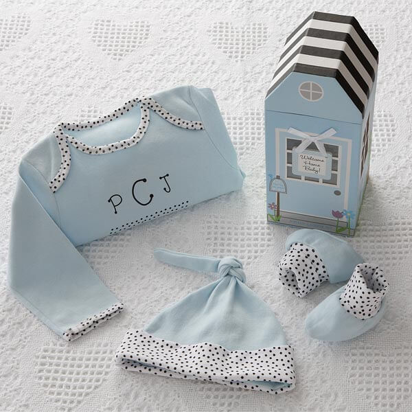 Welcome Home Baby Gift Set