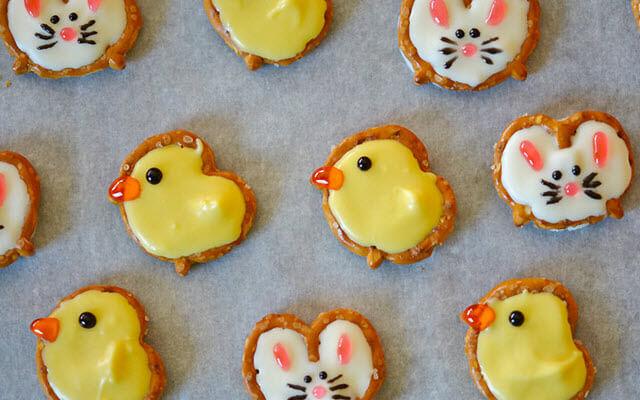 Pretzel Bunnies and Ducks