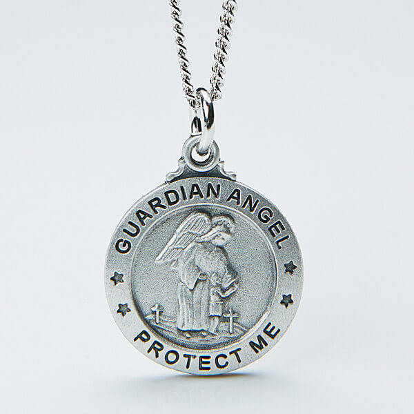 Engraved Angel Pendant