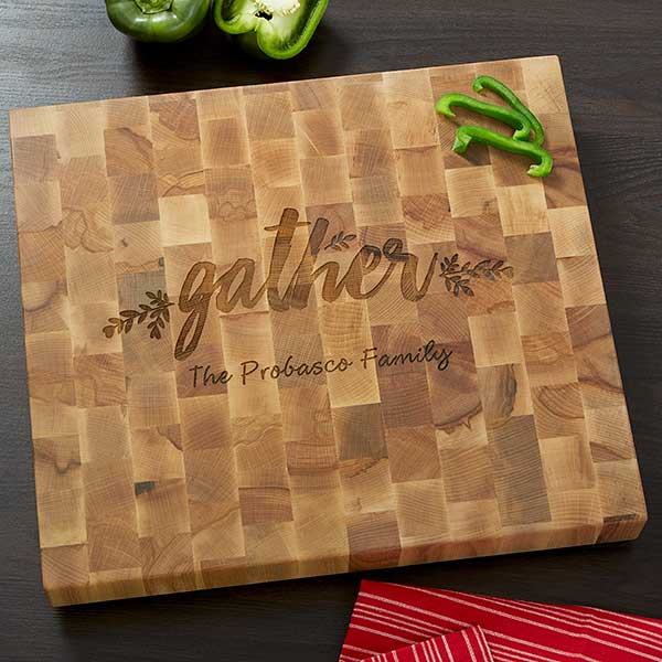 Butcher Block Cutting Board - Gather