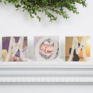 http://www.personalizationmall.com/Personalized-Photo-Shelf-Blocks-Set-Of-3-MOM-p17778.prod