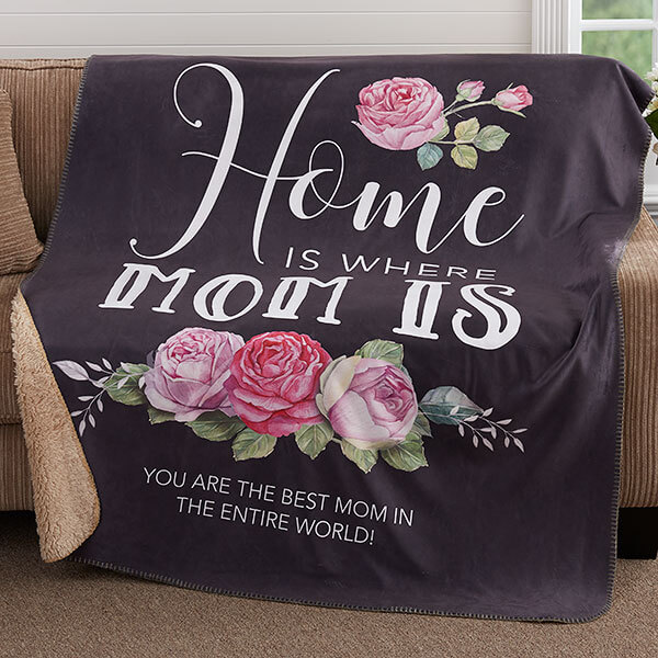 Personalized Mother's Day Blanket