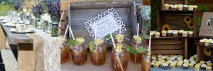 Rustic Bridal Shower Party Accents