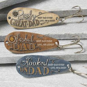 O'Fishal Dad Personalized Fishing Lure- Set of 3
