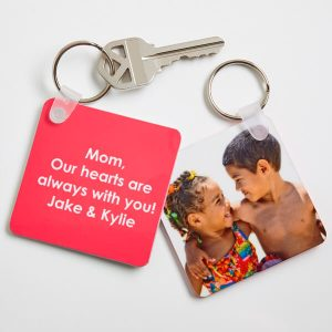 Picture Perfect Personalized Photo Key Ring
