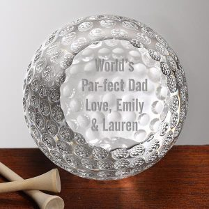 Personalized Crystal Golf Ball