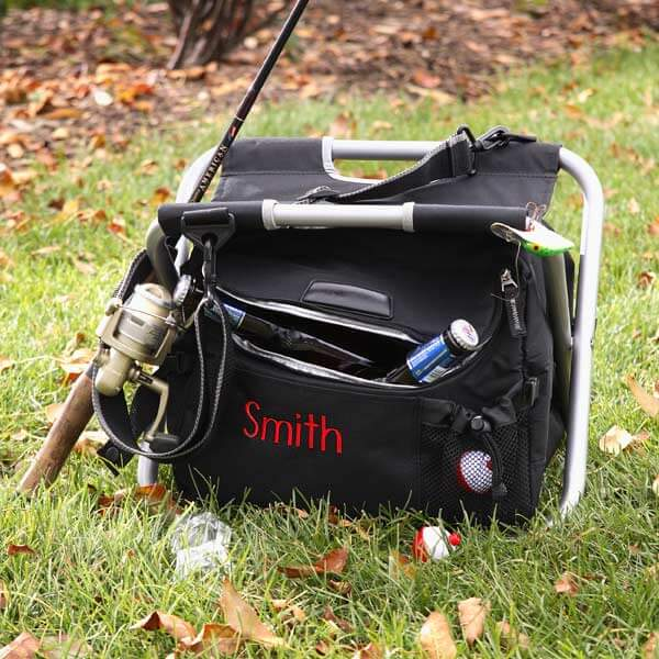 Sit 'n Fish Personalized Cooler & Chair -