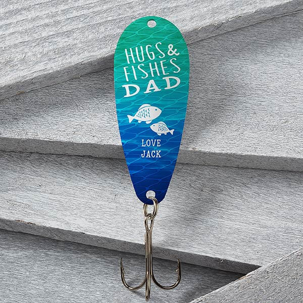Hugs & Fishes Personalized Fishing Lure