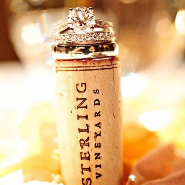 Wine Cork Wedding Photo Props