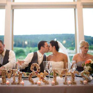 Wine Cork Wedding Photo Props
