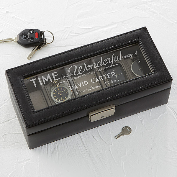 Personalized Birthday Gift - Watch Box
