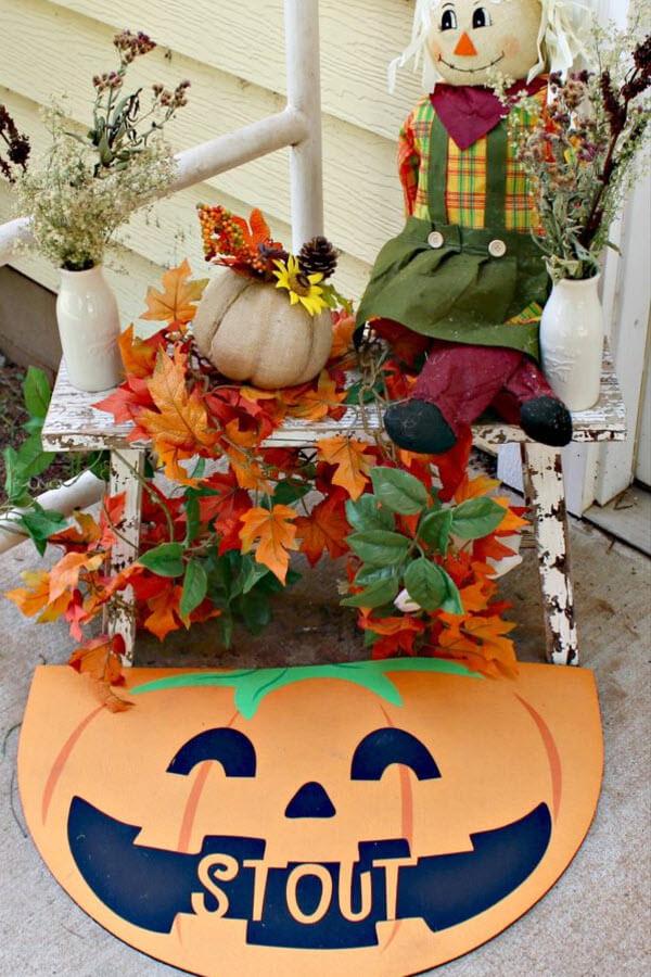 personalized fall decor