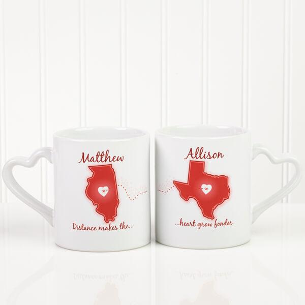 Long Distance Love Coffee Mugs