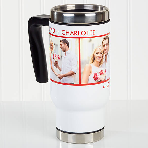 Photo Travel Mug for Boyfriend