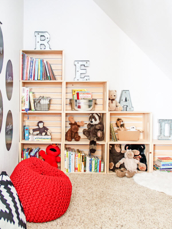 Reading Nook In A Playroom