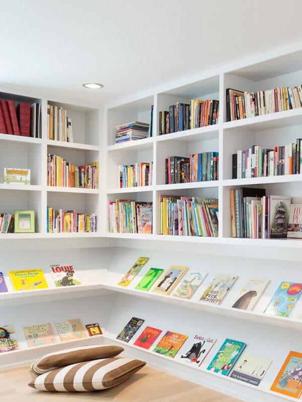 Clean & Modern Reading Nook