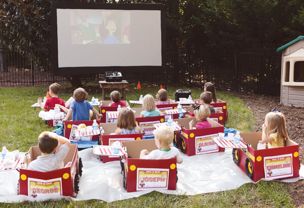 Kids' Drive-In Movie Birthday Party
