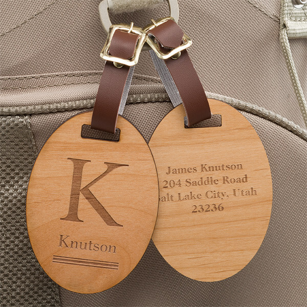 Real Estate closing Gifts - Custom Luggage Tags