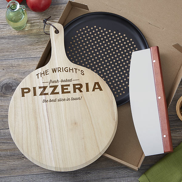 Real Estate Closing Gifts - Pizza Peel Set