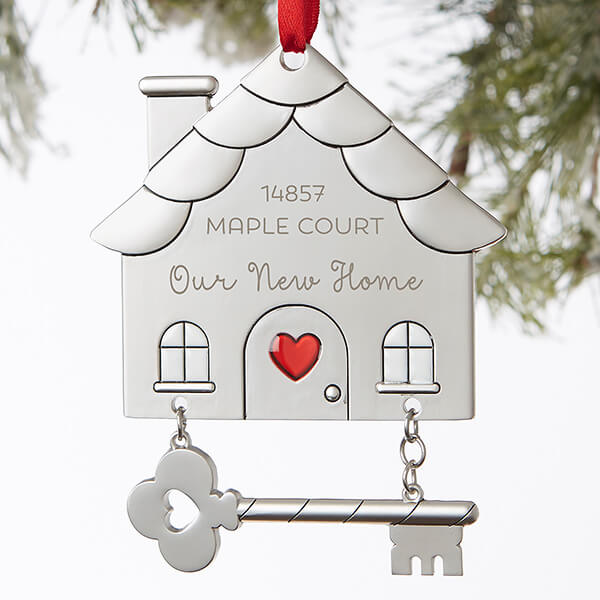 Real Estate Closing Gifts - Christmas House Ornament