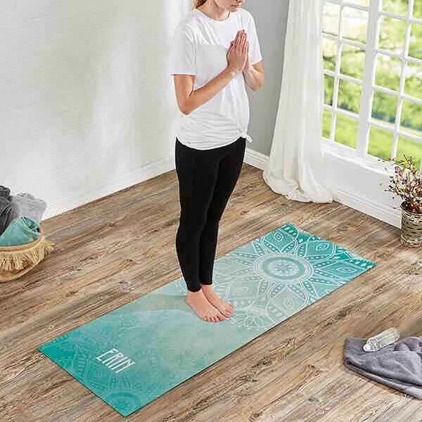 Mandala Personalized Yoga Mat