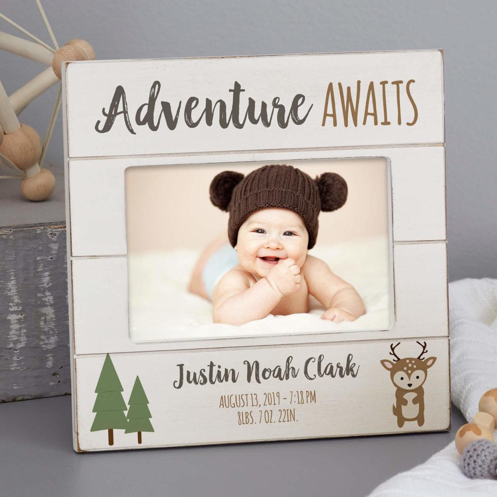 Adventure & Travel Nursery Decor - Baby Picture Frames