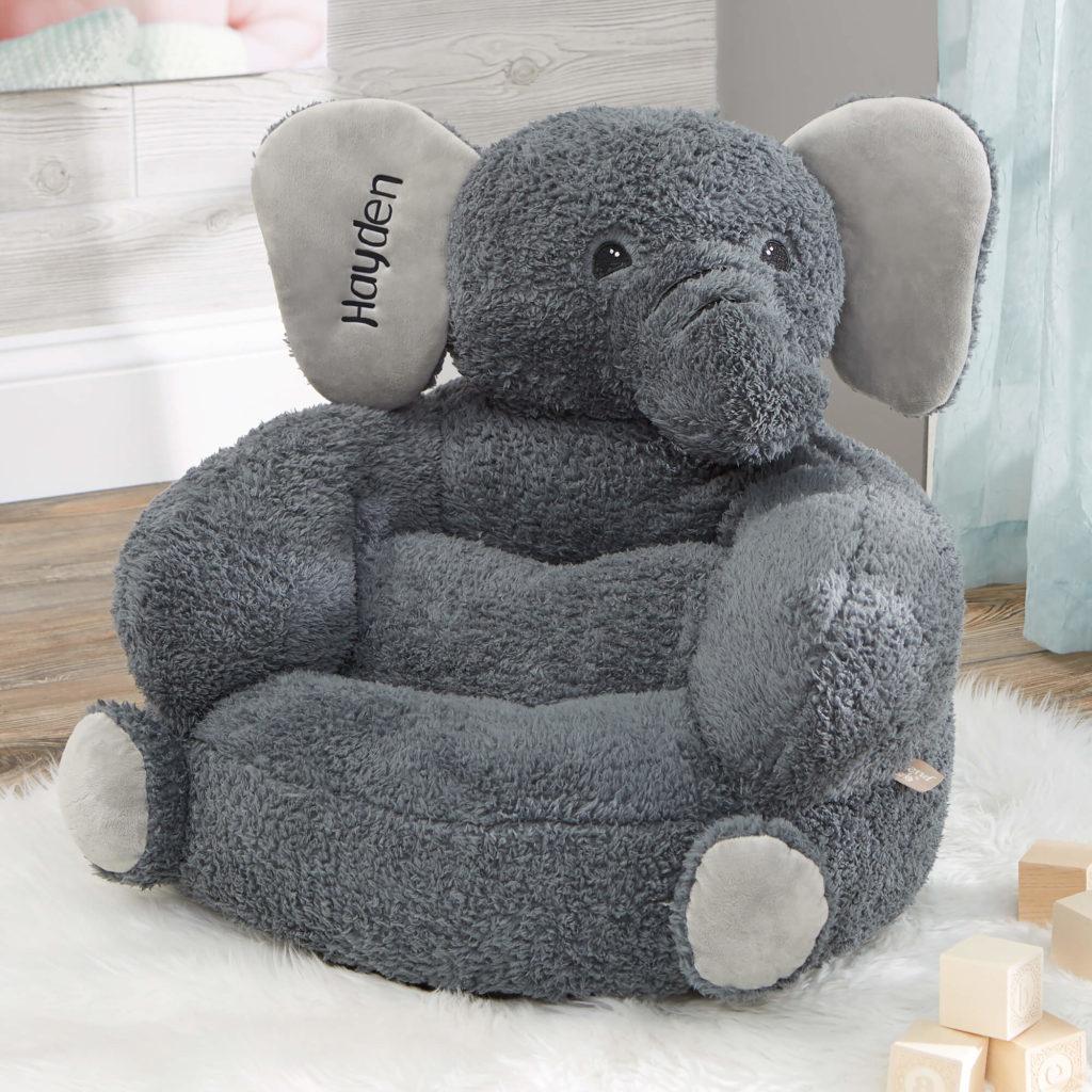 Elephant Nursery Decor - Plush Chair
