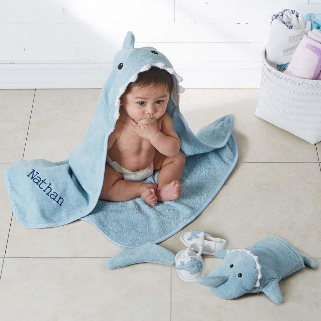 Nautical Nursery Decor - Baby Bath Set